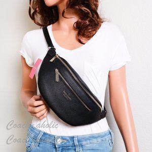 NWT Kate Spade Leila Leather Belt Bag Fanny Pack